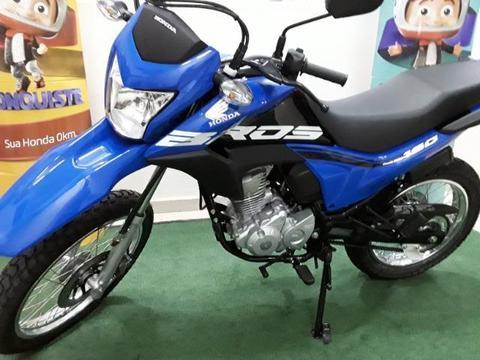 Honda Bros 160 Esdd completa, injeção, freios a disco, painel dig, a/c tr usad Wz995303213 - 2018