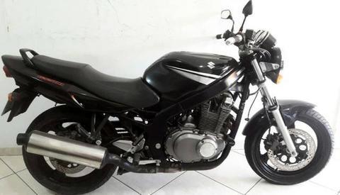 Suzuki Gs500E 2008 Preta - 2008