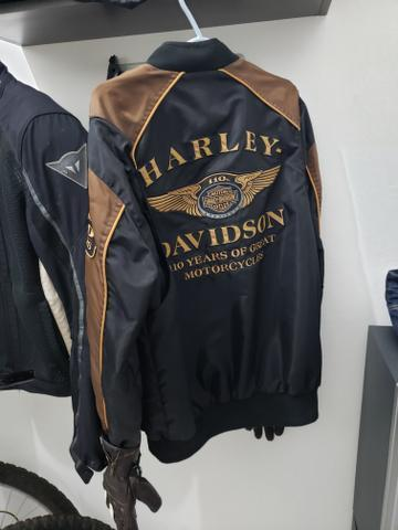 Jaqueta Harley Davidson 110 anos