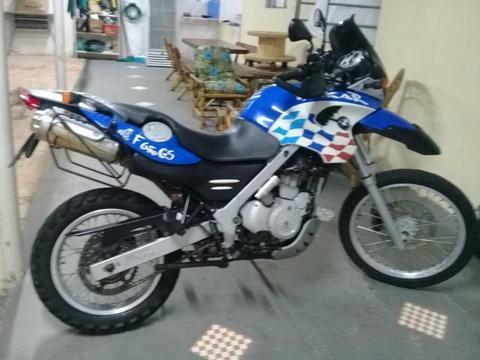 Moto BMwGS 650 Dakar 2003 - 2003