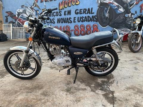 Moto suzuki baratinha de Leilão - 2008