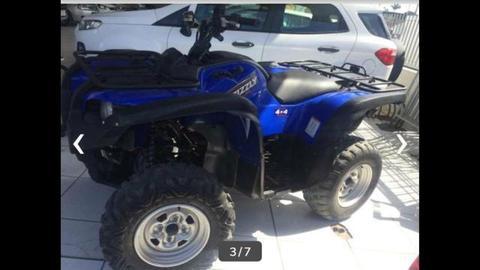 Quadriciculo700 ci. grizzly 2009 em estado de zero todo original troco em moto ou carro - 2009