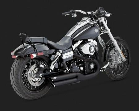 Escapamento Vance & Hines Harley Davidson ? Twin Slash Dyna Customer