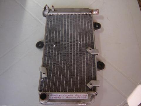 Radiador de água moto yamaha xt 660 original usado e recuperado