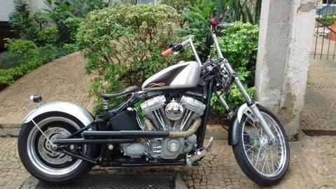 Harley-davidson Softail FX Standard 2007 customizada como Bobber - 2007