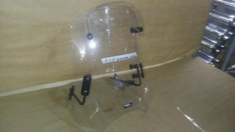 Bolha para brisa com defletor / Honda Shadow / moto Custom