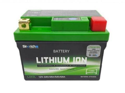 Bateria Moto Lithium Ion Titan 150/160 Crf230 Factor Skyrich