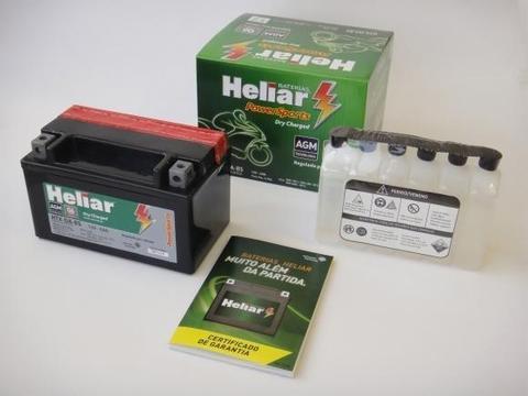 Bateria Heliar Htz7 R$149,99 Brugman virago
