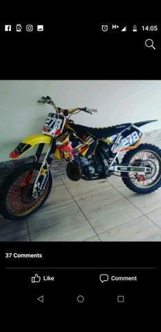 Moto susuki RM 250 2Tempos - 2001