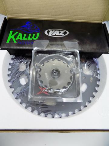 Kit relação bmw 650 VAZ g650gs 2011 2015 dakar 99/08 c/ retentor moto niteroi kallu motos
