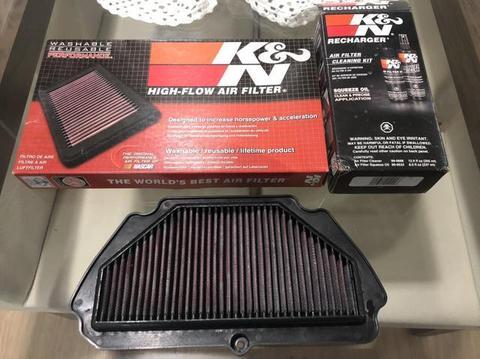 Filtro De Ar Kn K&n Zx6r / 636