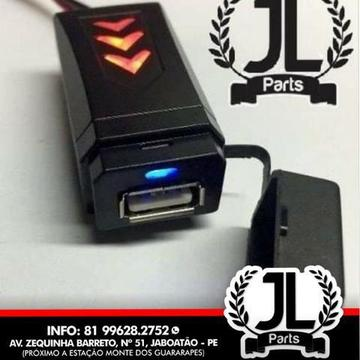 Carregador USB para Moto JL Parts (Promoção