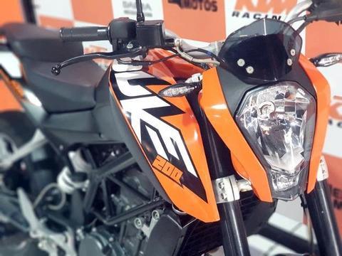 KTM Duke 200 apenas 8mil km rodados - 2016