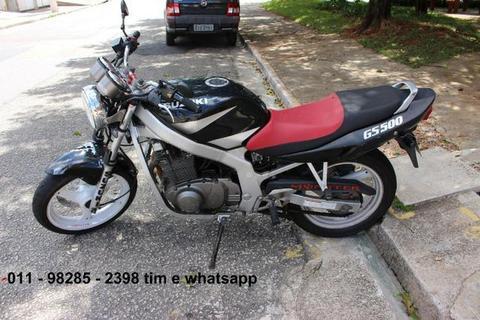 Suzuki GS 500 2003 Preta - 2003
