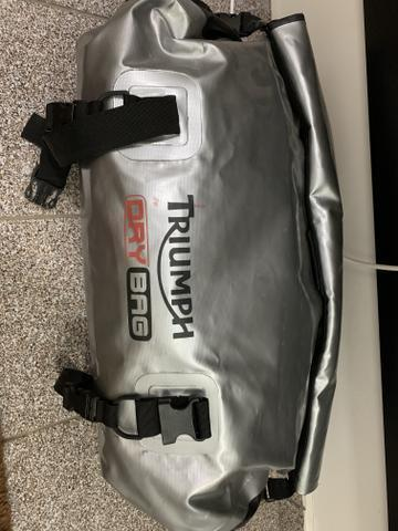 Triumph dry bag mala de viagem usada