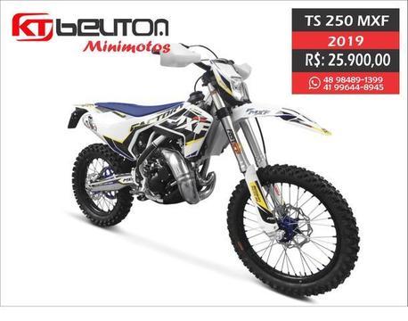 MXF 250 TS (50% + 50% 10x sem juros) moto trilha - 2019