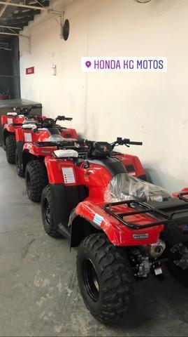 Quadriciclo honda fourtrax 420 4x4 - 2019