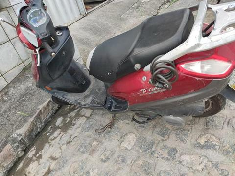 Dafra Smart 125, 2010, Scooter, Vermelho - 2010
